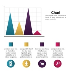 Infographic icon design vector