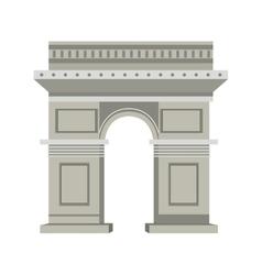 Arch of triumph vector image vector image