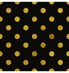Black and gold pattern abstract polka dot vector