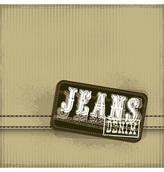 Jeans shopping design vector