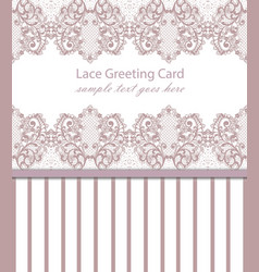 vintage luxury lace background with vector image