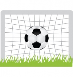 Football goal vector