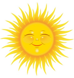Sunshine vector
