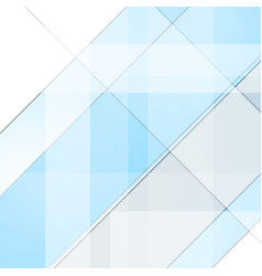 Grey and cyan tech geometric background vector