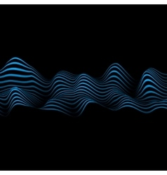 Abstract with wavy lines vector