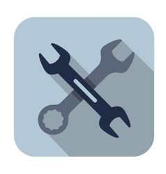 Wrench icons vector