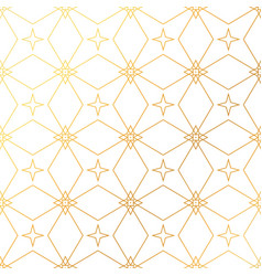 Abstract geometric golden pattern background vector