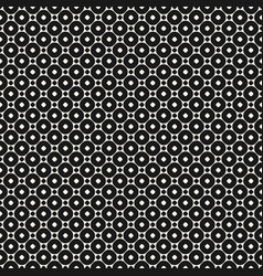 geometric seamless pattern with circles and rings vector image vector image