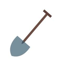 Hand shovel vector