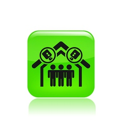 home reality icon vector image vector image