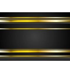 Minimal abstract technology golden vector