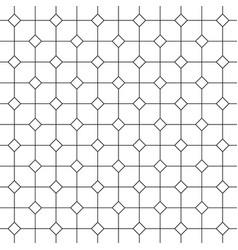 vintage tiles pattern or background vector image vector image