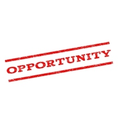 Opportunity watermark stamp vector