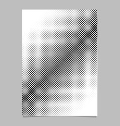 abstract halftone diagonal square background vector image