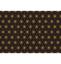 Art deco monochrome gold seamless wallpaper or vector