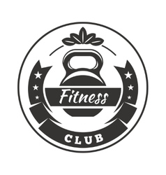 Fitness Club Logo vector image vector image