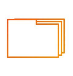 Folder file document paper web icon vector