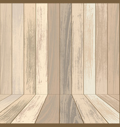 Light wooden background vector