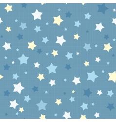 Seamless stars pattern vector