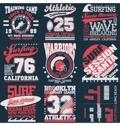 T-shirt Printing Design vector image