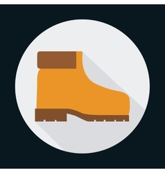 Boot industrial security safety icon vector