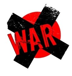 War rubber stamp vector