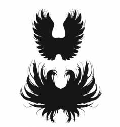 ugly wing v vector image