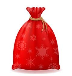 christmas bag 02 vector image