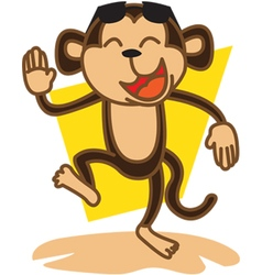 Monkey party vector