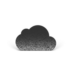 Cloud pictogram vector
