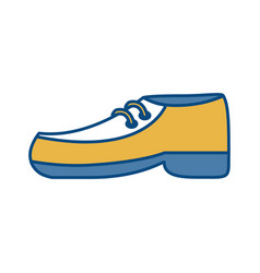 Elegant shoe icon vector