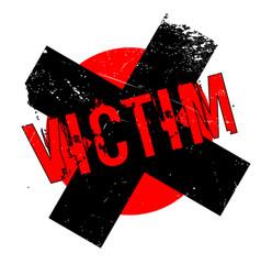 Victim rubber stamp vector