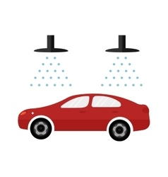 Automatic car wash facilities innovative self vector