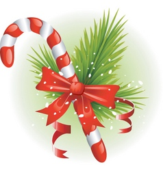 Christmas elements vector image vector image
