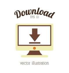 Download icon design vector