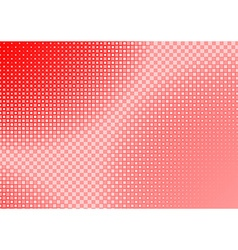 Red Squared Background vector image vector image