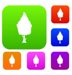 Cypress set collection vector