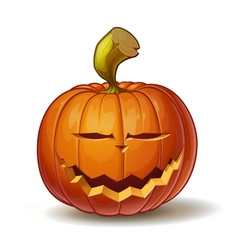 Pumpkins smiling 1 vector