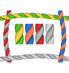 Rope brush vector