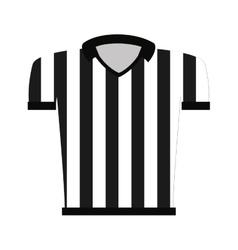 Shirt uniform referee icon vector