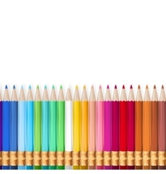 Rainbow pencils eps 10 vector