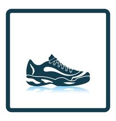 Tennis sneaker icon vector