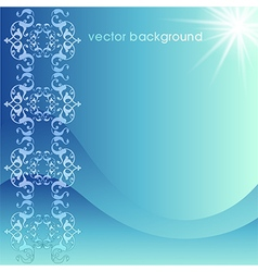 decorative cover template fifty four vector image