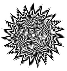 Black and white complicated vector