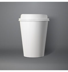 Coffee cup photorealistic 3d eps10 vector