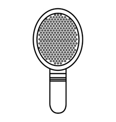 comb makeup isolated icon design vector image vector image