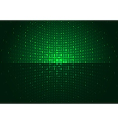 Green Disco Background vector image