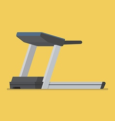Treadmill sport equipment vector