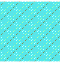Pattern with triangles in hipster style vector