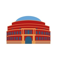 Theater building vector